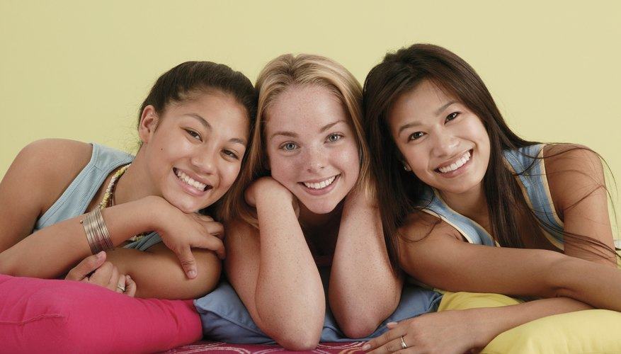 A small sleepover allows teens to bond with their closest friends.