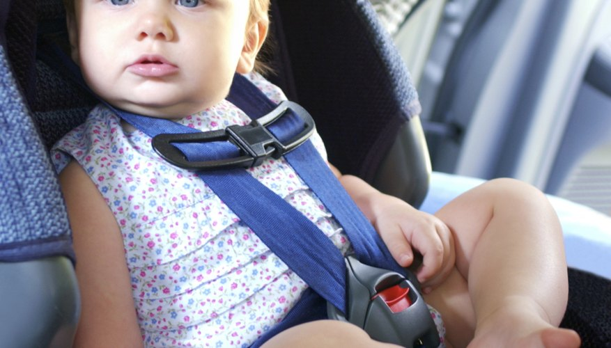 The back seat is the safest seat for your child.