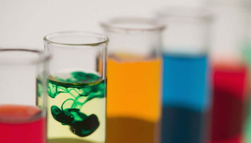 Chemistry Projects for Diffusion in Liquids | Sciencing
