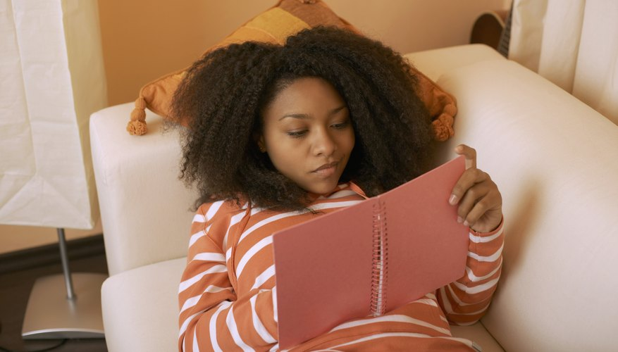 Encourage your teen to write down her feelings.