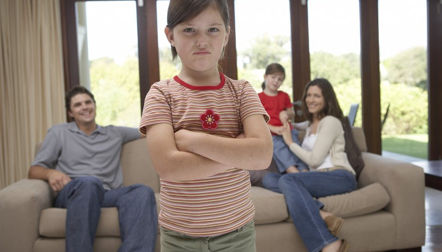 A middle child may perceive a lack of individual attention.
