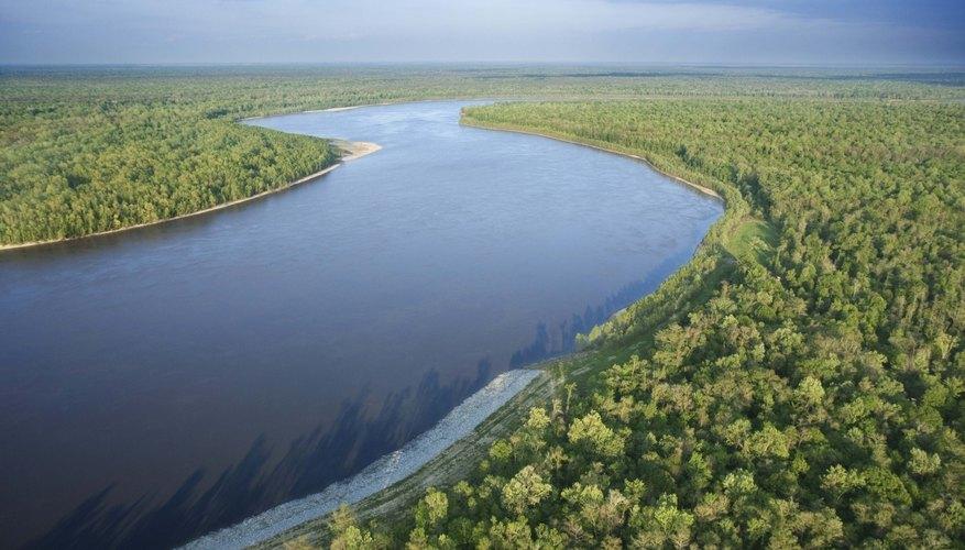 Los ríos son una gran fuente de energía.