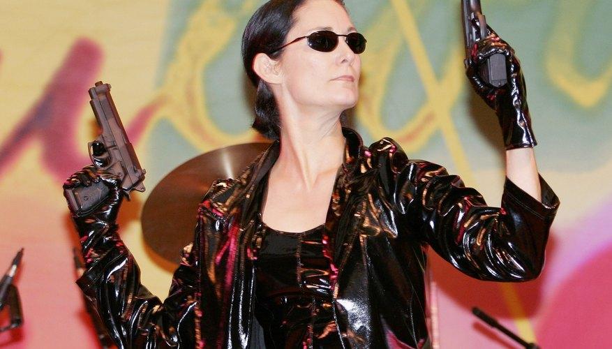 El personaje de Trinity fue interpretado por la actriz canadiense Carrie Anne Moss