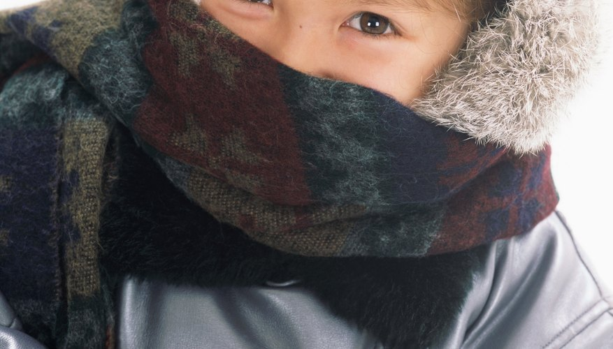 Protecting your child's skin is important when the temperatures drop below freezing.