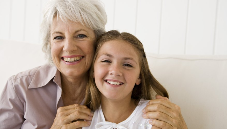 Parents want their children to have good relationships with grandparents but not to smother them with attention.