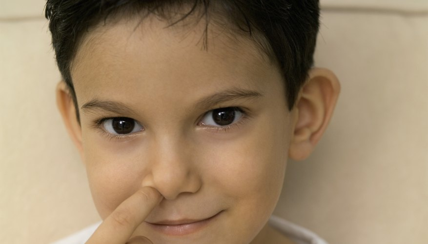 Stop the nose-picking habit.