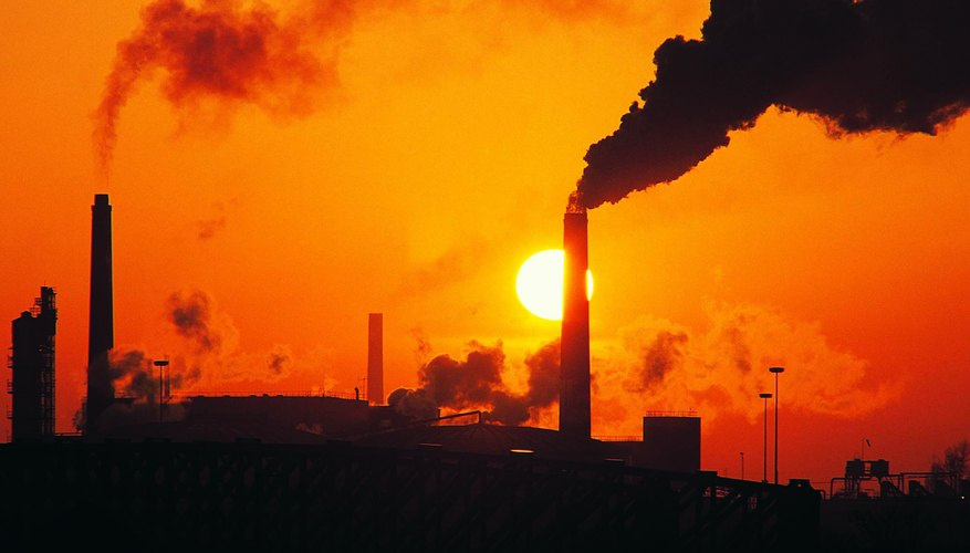 Power plants are a primary source of air pollution.