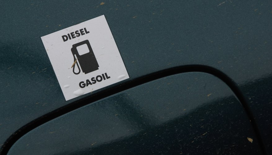 Sign above gas cap