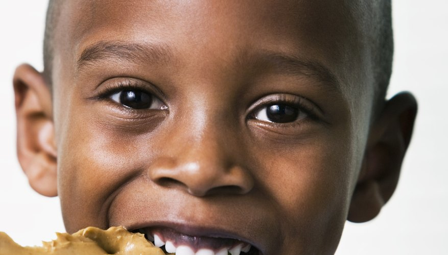 This common kid's snack can use sunflower butter instead of peanut butter.