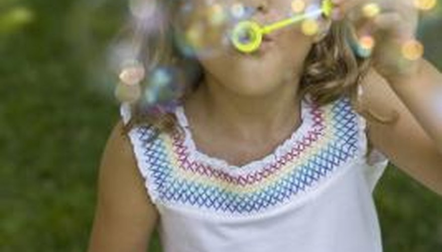 Bubble-making is a popular summer pastime, and bubble-makers have developed numerous bubble solutions aimed at making massive bubbles.