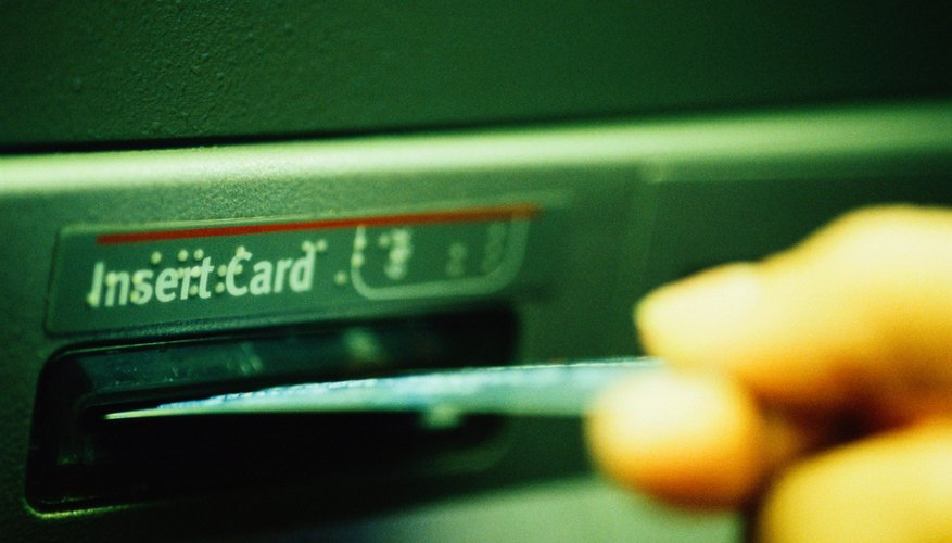 Unlike credit card cash advances, you don't pay interest on debit card cash withdrawals.