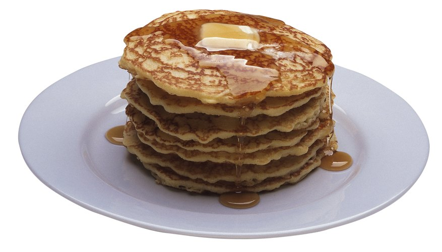 Pancakes are a breakfast favorite for many.