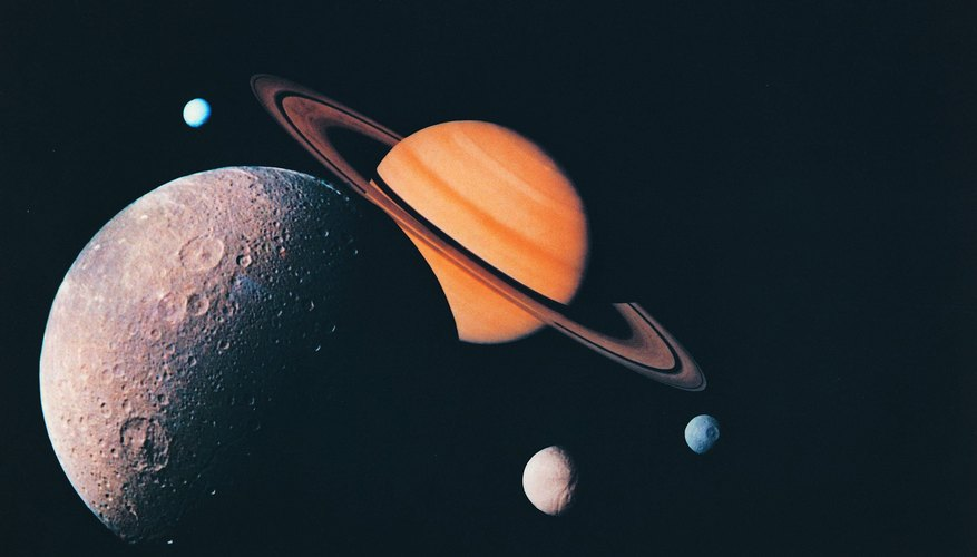 Saturn's Temperature Ranges | Sciencing