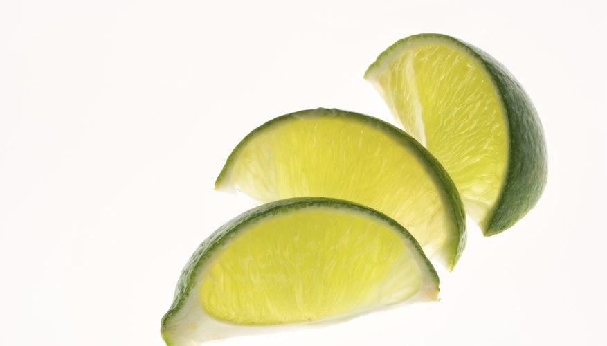 Citrus fruit contains acid