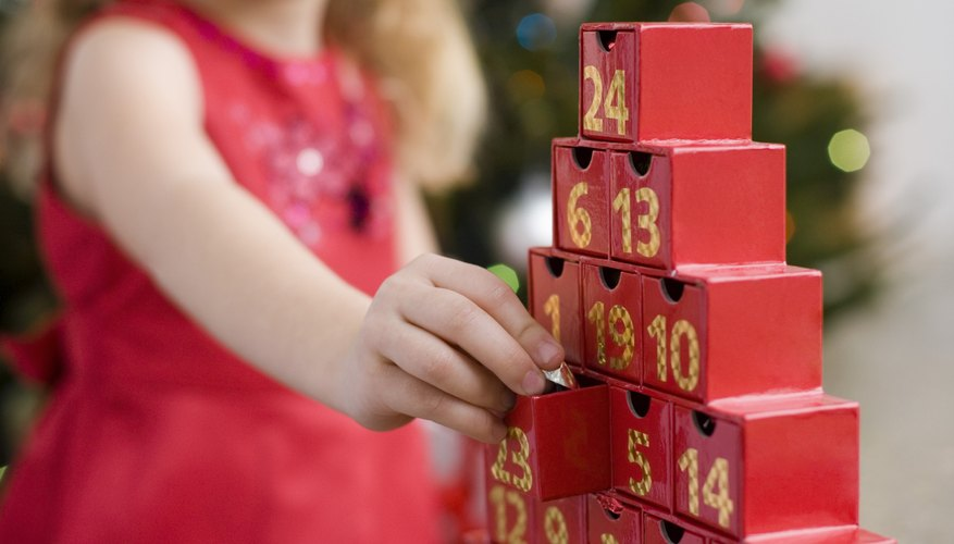 Some Christian families celebrate Advent with a countdown to their Savior's birth.