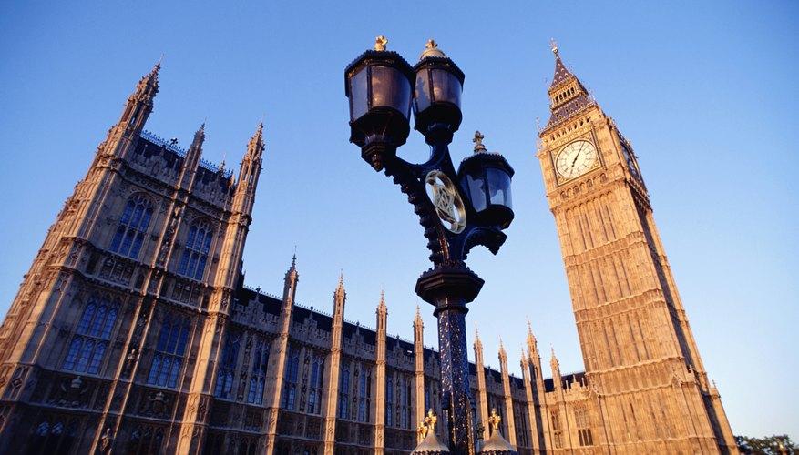 Vista del famoso Big Ben