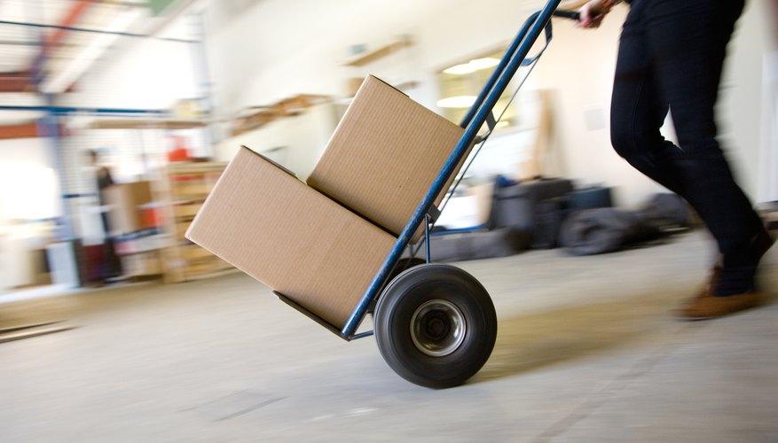 Las organizaciones utilizan FIFO para organizar almacenes e inventario.