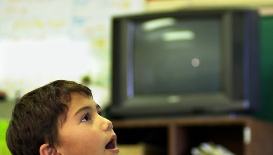 Your old television can help educate students.