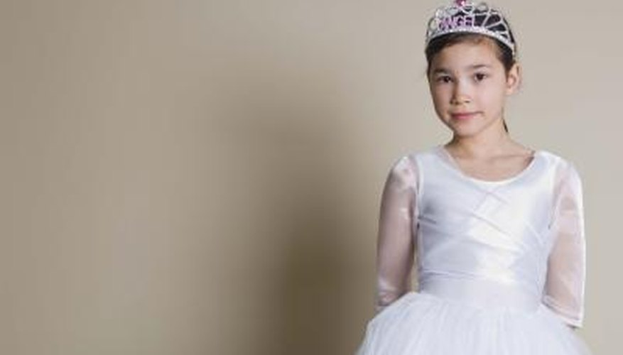 Make a princess dress fit for your little girl.