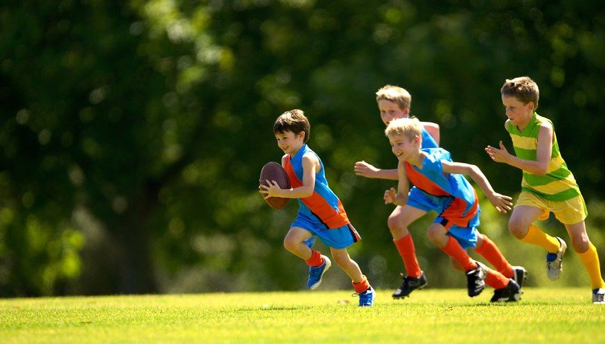 Active outdoor play builds muscle and increases coordination.