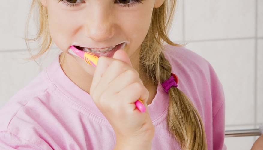 Brushing teeth properly will help prevent tooth decay.