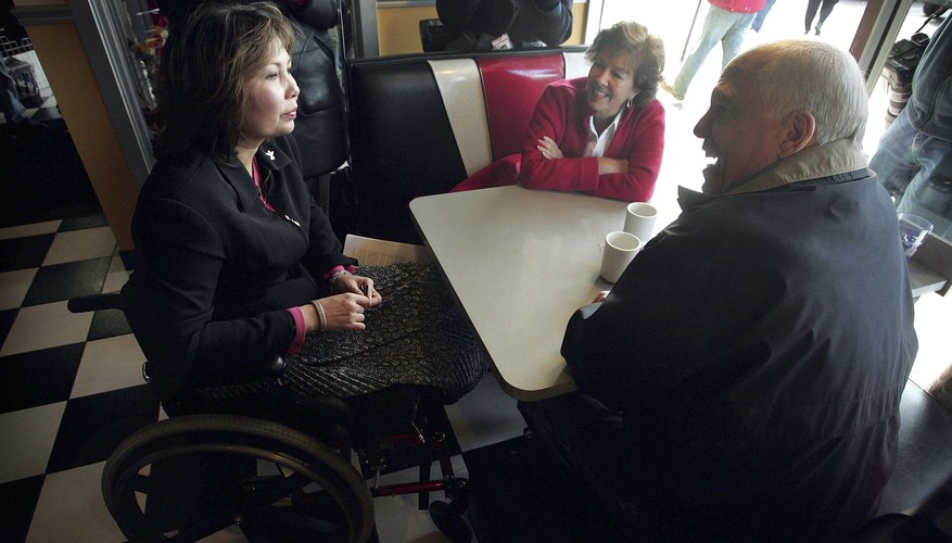 Congressional Candidate Tammy Duckworth Campaigns Ahead Of Midterm Election