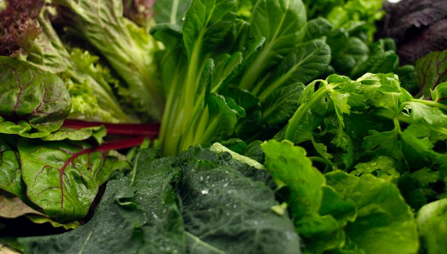 Leafy greens are considered good for alkalinizing your system.