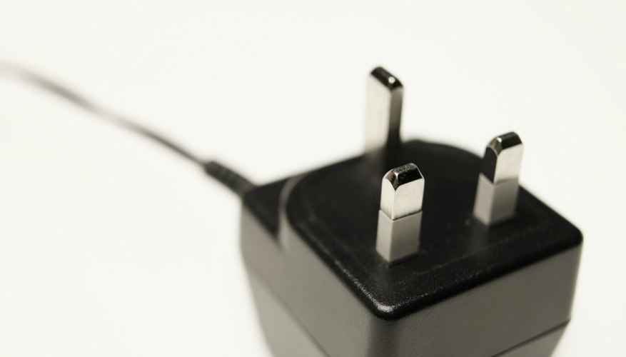 Close-up of mobile phone charger