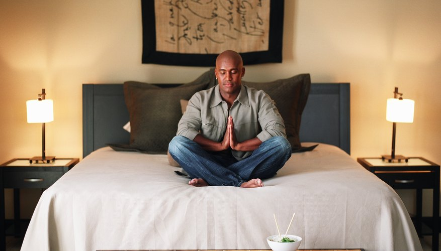 A Zen bedroom should be simple and relaxing, yet warm and welcoming.