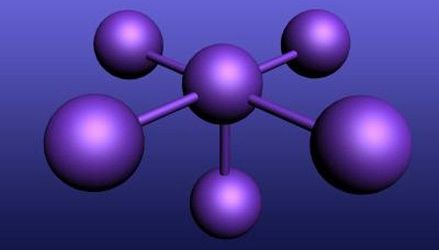 The shape of a molecule determines whether it is polar or non-polar.
