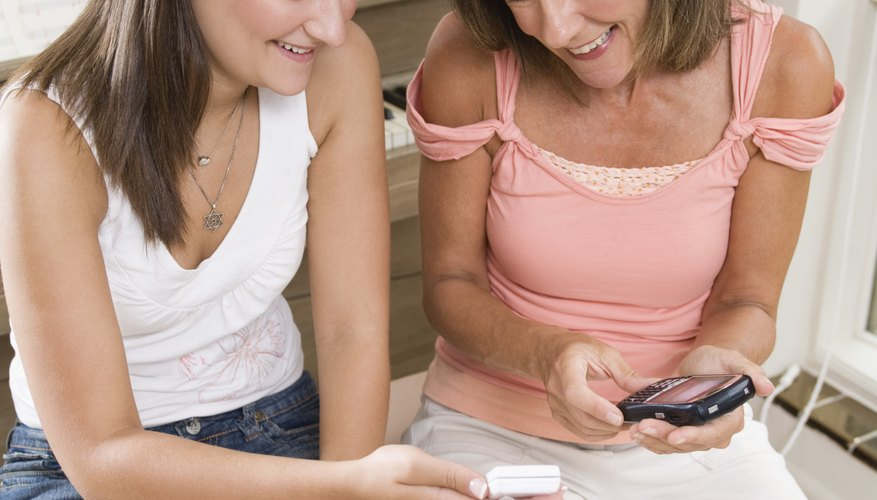 If you're concerned about what your child is sharing via her iPhone, honesty and openess may be your best policy.