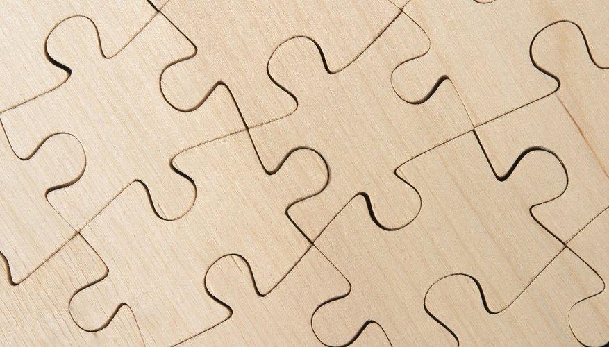 Los rompecabezas son un pasatiempo popular con parientes jóvenes y adultos.