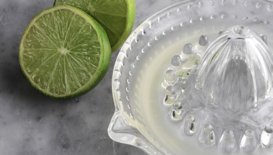 Limes contain slightly less vitamin C per one oz. of juice.