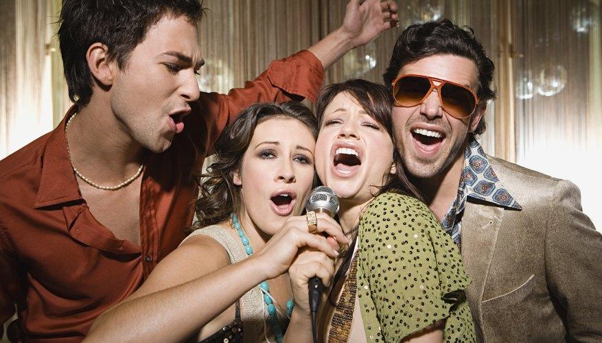 La música no puede faltar en un evento juvenil.