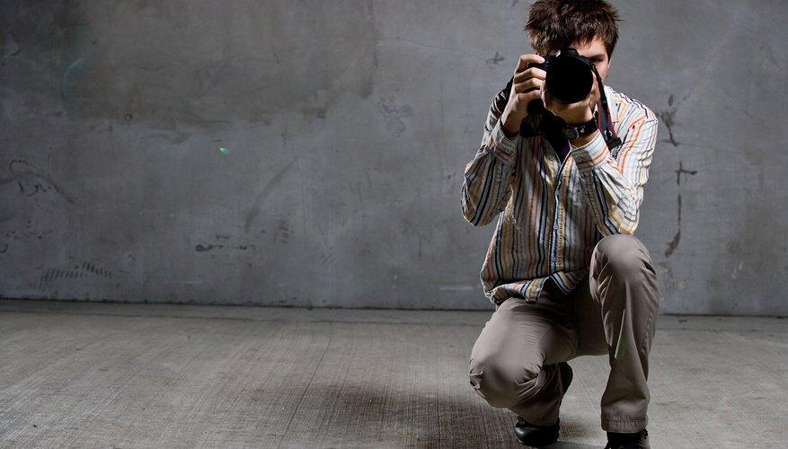 Un logo puede ayudarte a publicitar tu negocio de fotografía.