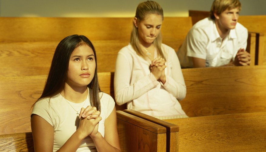Confirmation candidates make personal decisions to accept the sacrament.