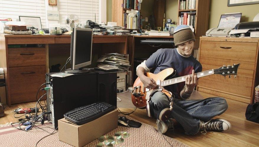 Una toma de entrada dañada realmente puede interferir con la sesión de música.