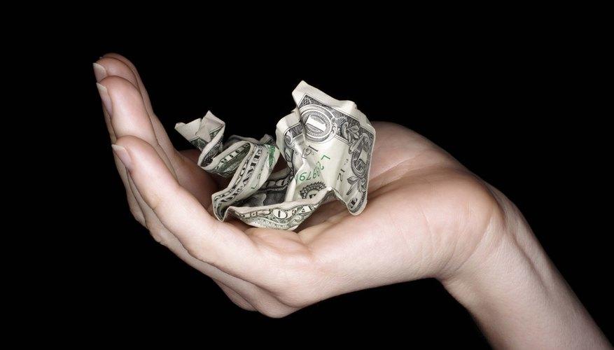 El uso duro significa que el billete de dólar no vivirá para siempre.