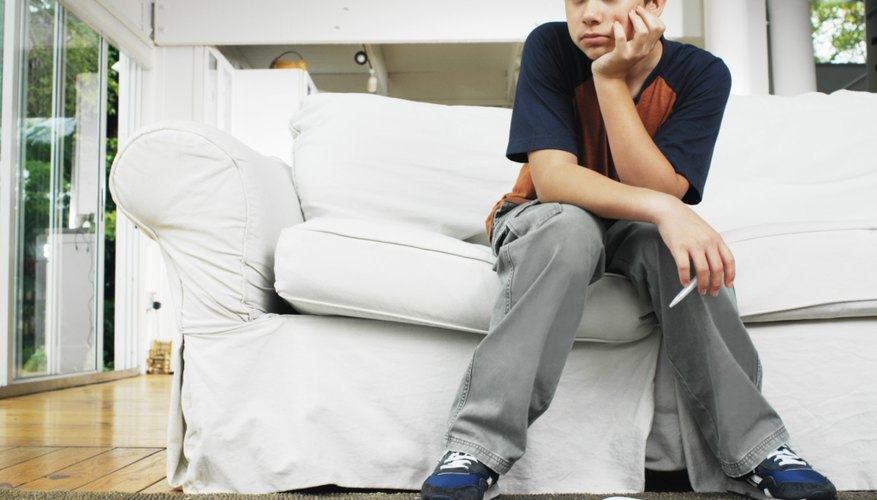 Teens can experience stress from many sources at once.