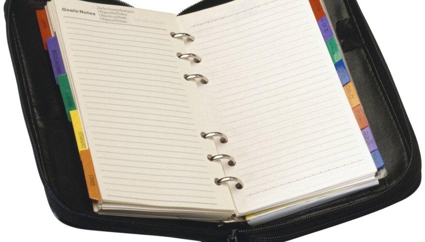 Mantente organizado con un planificador hecho por ti.