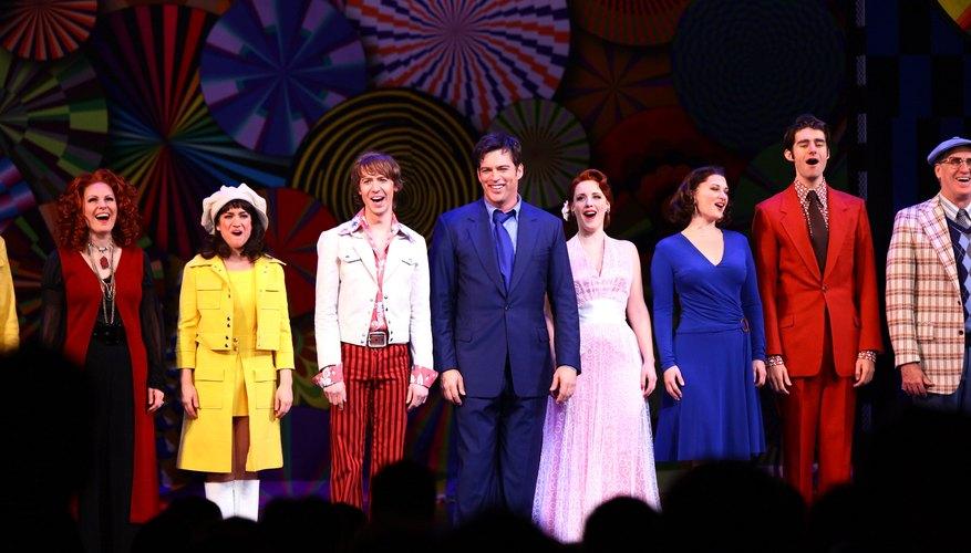 Broadway show cast