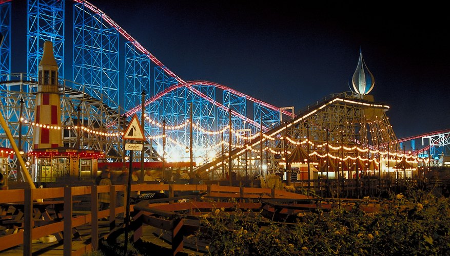 Roller coasters operate on basic principles of physics and psychology.