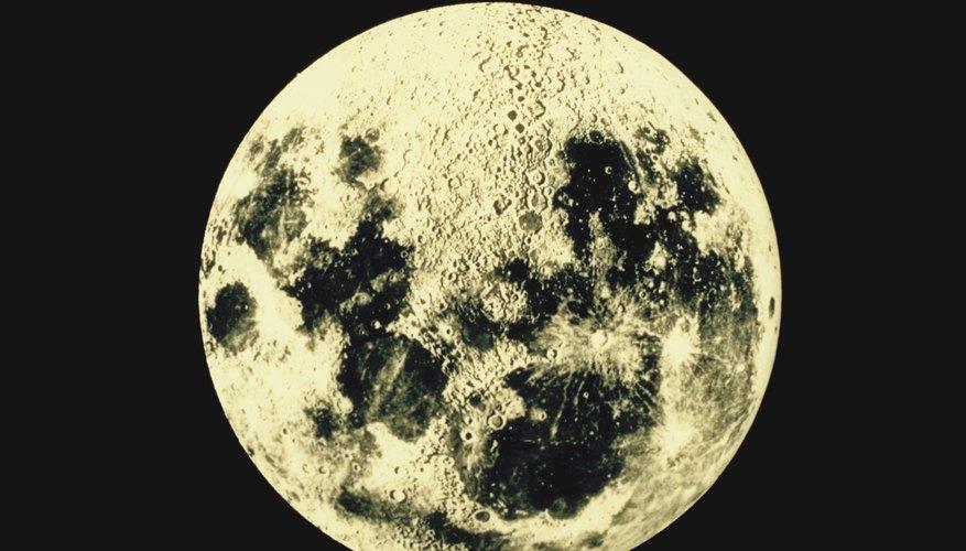 La luna llena aparece cuando está más lejos del sol.