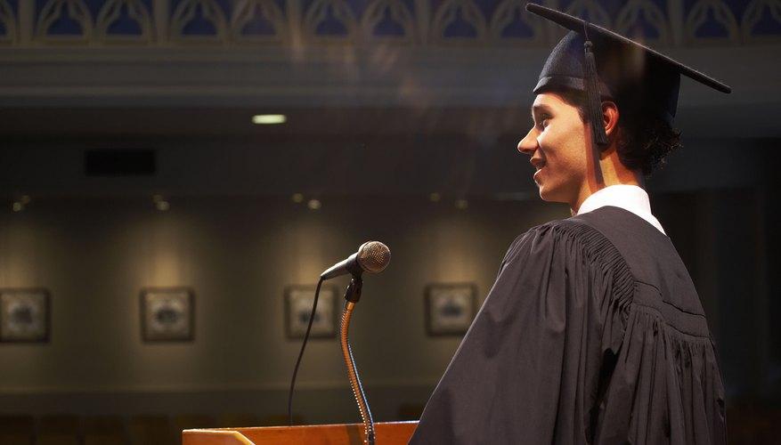 Un discurso de graduación nunca debe improvisarse