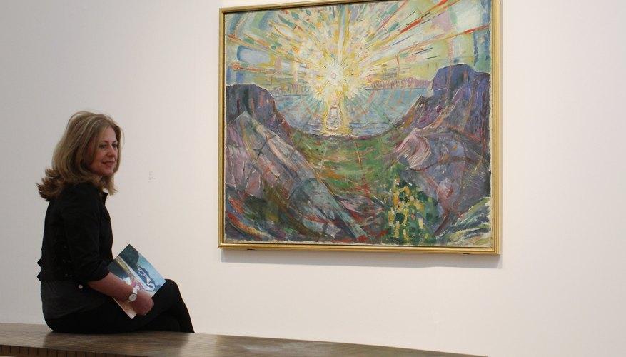 Cuadro de Munch en la Tate Modern londinense