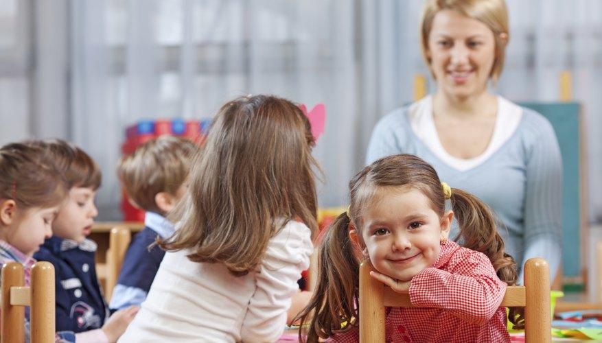 Preschool Teacher Requirements In California Bizfluent