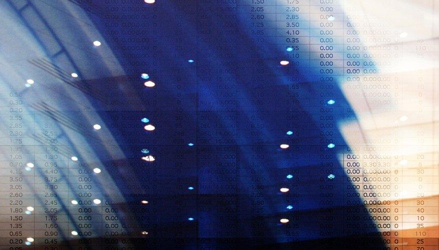 Las hojas de cálculo electrónicas se hicieron populares junto con las computadoras personales.