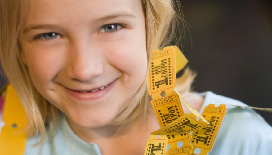Exchange tickets for good behavior and reward a set amount with a special prize or privilege.