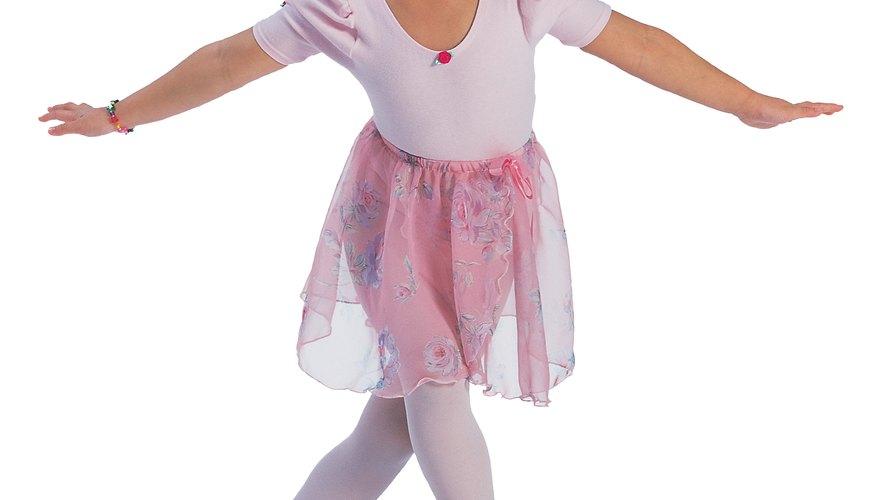 Los vestidos de ballet no son solamente estéticos sino que también seguros.
