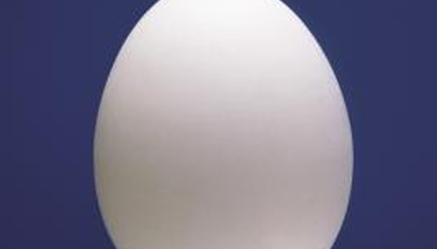 Hen eggs can be used for a variety of liquid density experiments.